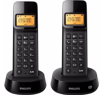Philips D1452B/22 Zwart