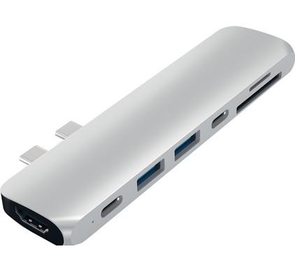 Satechi TYPE-C PRO Hub 4K HDMI Zilver