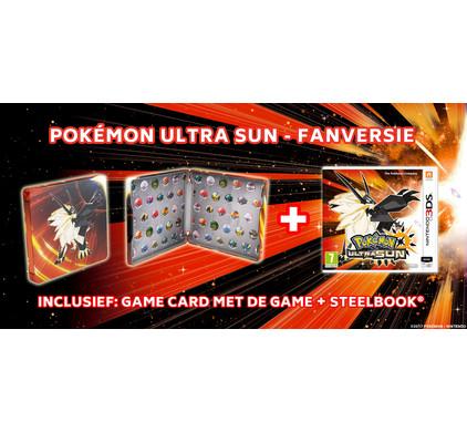 Pokemon Ultra Sun Steelcase Edition 3DS