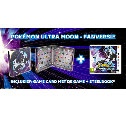 Pokemon Ultra Moon Steelcase Edition 3DS