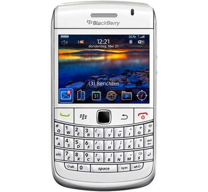 BlackBerry Bold 9700 White T-Mobile + Screenprotector