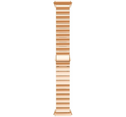 Just in Case Fitbit Ionic RVS Horlogeband Rose Gold