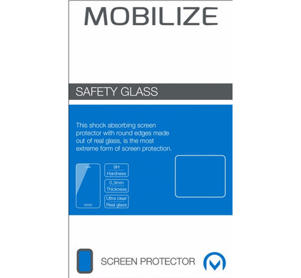 Mobilize Safety Glass Sony Xperia XZ2 Compact Screenprotector Glas - Coolblue - Voor 23.59u, morgen in huis
