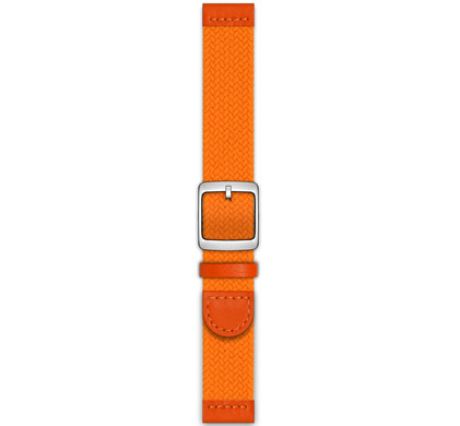Nokia 18mm Kunststof Horlogeband Oranje
