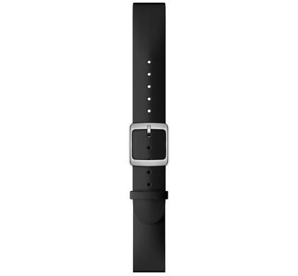 Nokia 20mm Siliconen Horlogeband Zwart