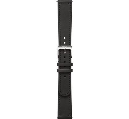 Nokia 20mm Leren Horlogeband Zwart