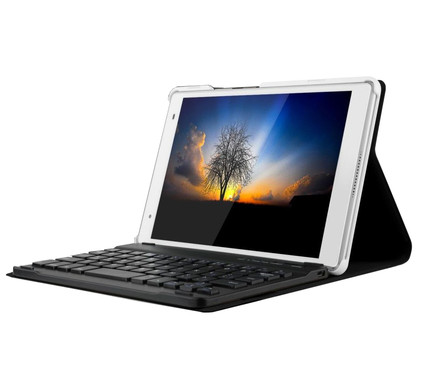 Just in Case Lenovo Tab 4 8 Keyboard Cover Zwart