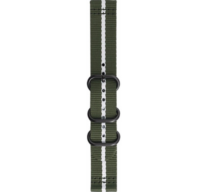 Samsung Gear Sport Premium Nylon Horlogeband Groen