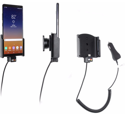 Brodit Mount Samsung Galaxy Note 8 with charger Main Image
