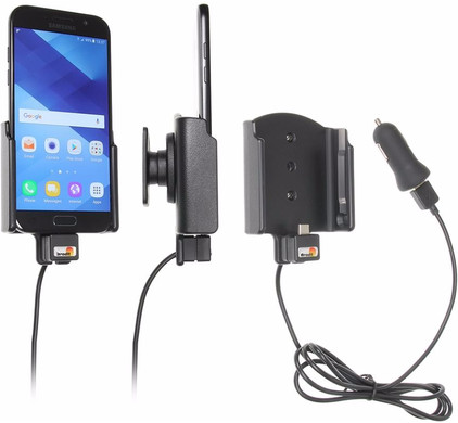 Brodit Mount Samsung Galaxy A5 (2017) with charger Main Image