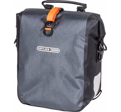 Ortlieb Gravel-Pack QL2.1 Grey/Black (paar)