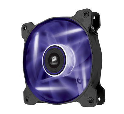 Corsair AF120 LED Quiet Edition Purple Double Pack