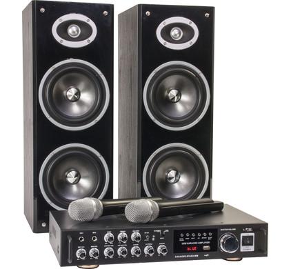 LTC Audio Karaoke Star 3 Draadloos Karaokesysteem