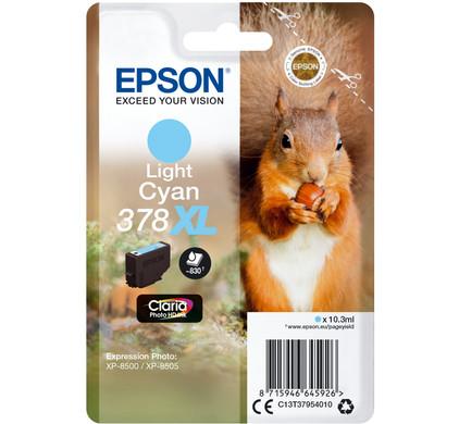 Epson 378XL Licht Cyaan (C13T37954010)