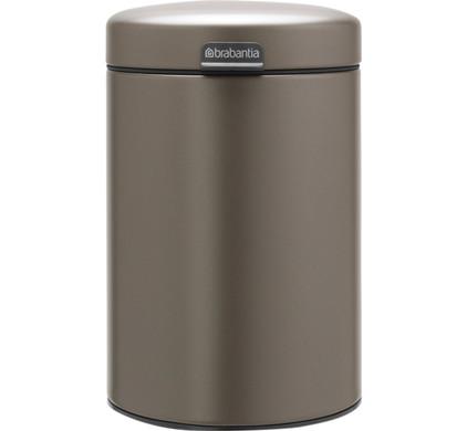 Brabantia NewIcon Wandafvalemmer 3 Liter Platinum