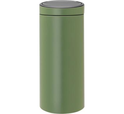 Brabantia 30 Liter Touch Bin.Brabantia Touch Bin 30 Liters Moss Green