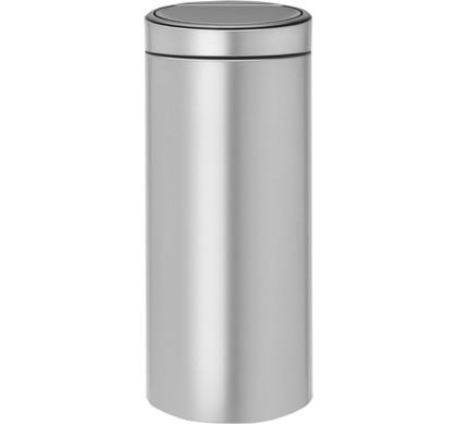 Brabantia Touch Bin 30 Liter Metallic Grey