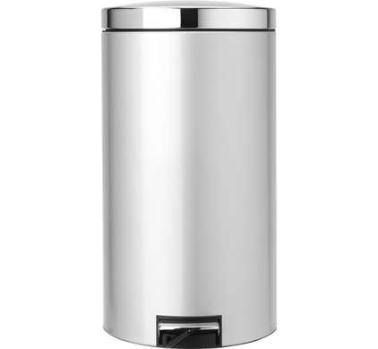 Brabantia Motioncontrol Pedaalemmer 30 L.Brabantia Pedaalemmer 45 Liter Metallic Grey
