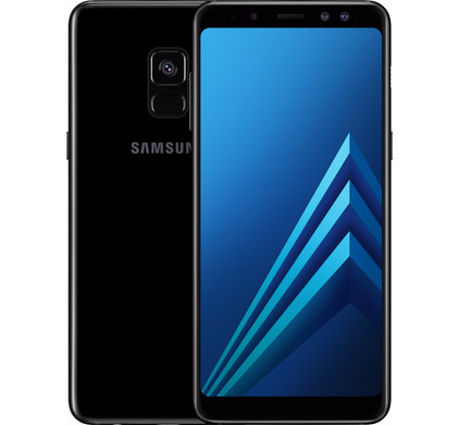Samsung Galaxy A8 (2018) Black - Coolblue