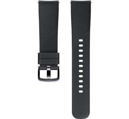Samsung Gear Sport Siliconen Horlogeband Zwart