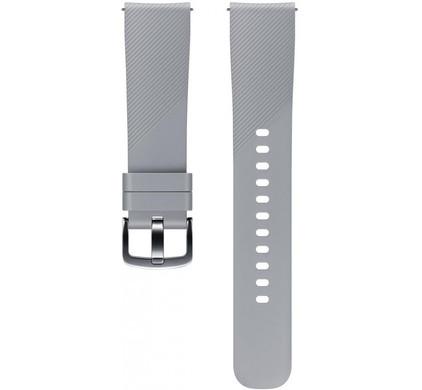 Samsung Gear Sport Siliconen Horlogeband Grijs