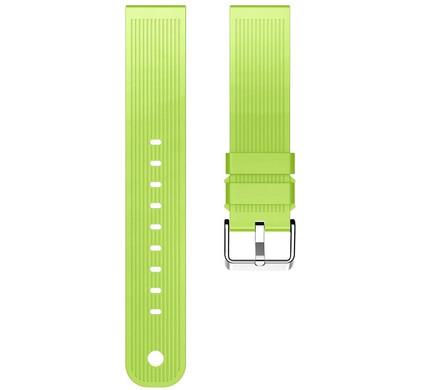 Just in Case Samsung Gear Sport Siliconen Horlogeband Groen