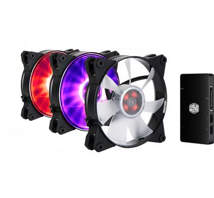 Cooler Master MasterFan Pro 120 Air Flow 3 In 1 RGB