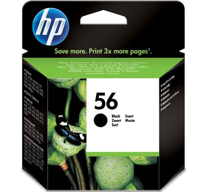 HP 56 Cartridge Zwart (HPC6656A)