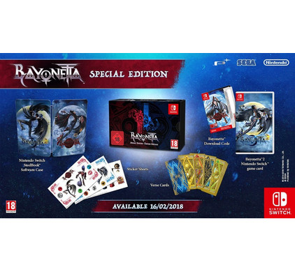 Bayonetta 2 Special Edition Switch