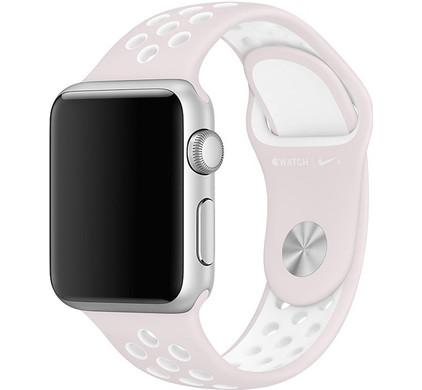 Apple Watch 42mm Polsband Nike Sport Licht Violet/Wit