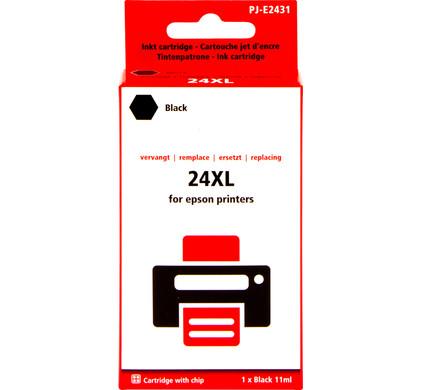 Huismerk 24XL Zwart voor Epson (C13T24314010)