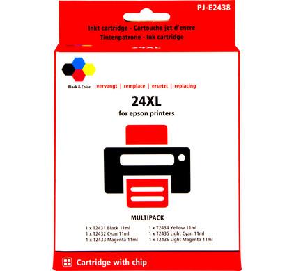 Huismerk 24XL 6-Kleuren Pack voor Epson (C13T24384010)