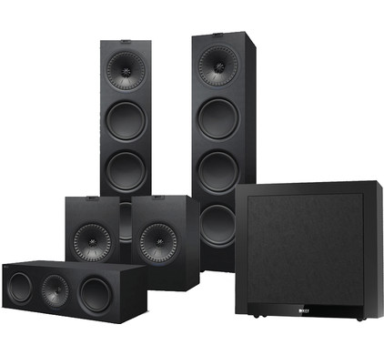 KEF Q950 5.1 Speakerset Zwart