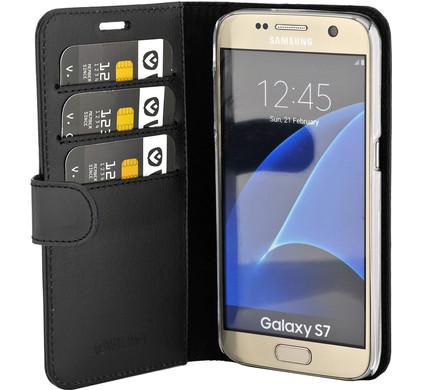 Valenta Booklet Classic Luxe Samsung Galaxy S7 Zwart