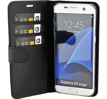 Valenta Booklet Classic Luxe Samsung Galaxy S7 Edge Zwart