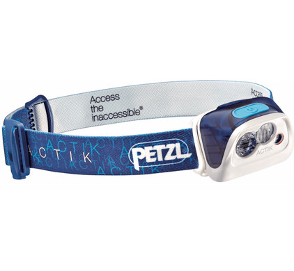 Petzl Actik 300 Blauw