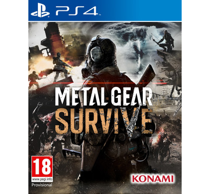 Metal Gear Survive PS4 Main Image