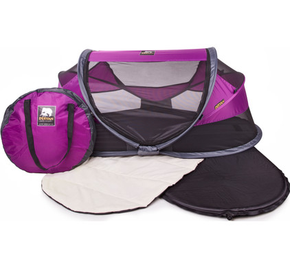 Deryan Travel Cot Baby Luxe Purple