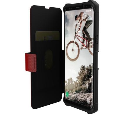Cas Rouge Métropole Pour Samsung Galaxy S8, Plus