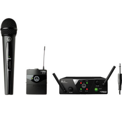 AKG WMS40 Mini2 Mix Set (864.375 - 864.850 MHz)