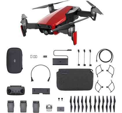 DJI Mavic AIR Fly More Combo Flame Red Main Image