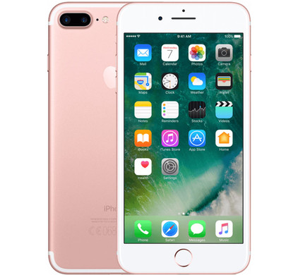 Apple iPhone 7 Plus 128 GB Rose Gold - Coolblue - Voor 23.59u, morgen in huis