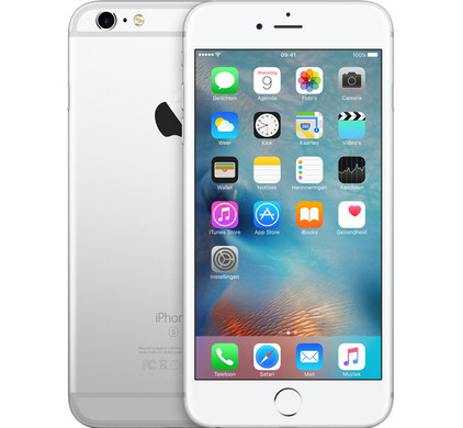 Apple iPhone 6s Plus 128GB Zilver Main Image