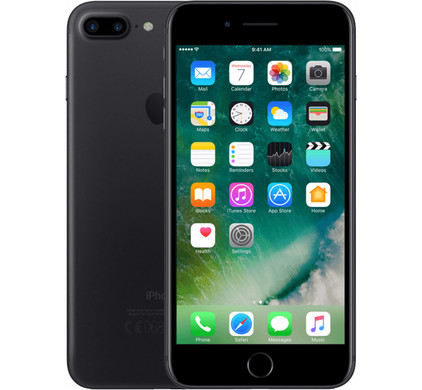Apple iPhone 7 Plus 32 GB Zwart Main Image