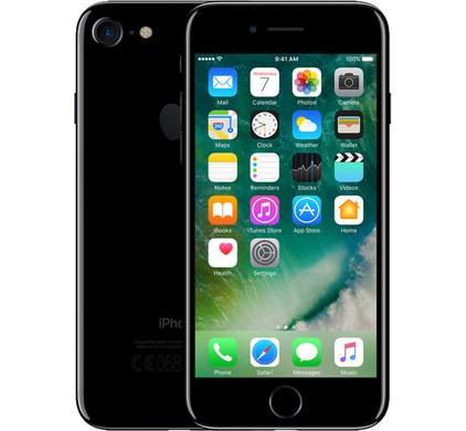 Apple iPhone 7 32 GB Jet Black - Coolblue - Voor 23.59u, morgen in huis