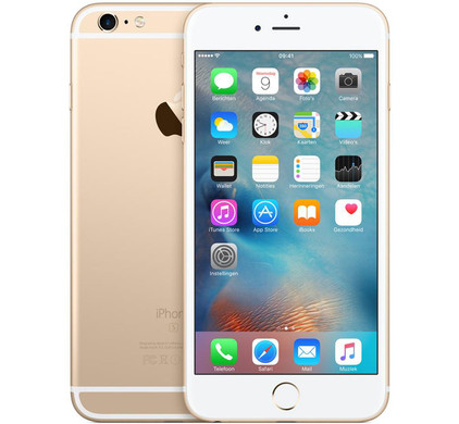 Apple iPhone 6s Plus 128GB Goud - Coolblue - Voor 23.59u, morgen in huis