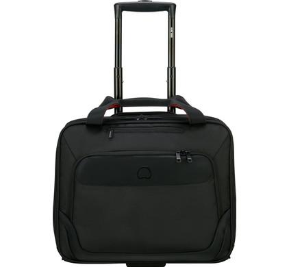 """Delsey Parvis Plus Boardcase Trolley 15,6"""" Zwart"""