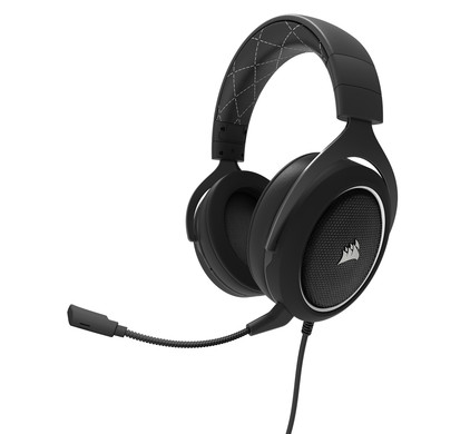 Corsair HS60 Stereo + Surround Sound Gaming Headset White Main Image