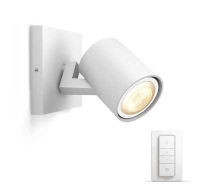 Seneste Philips Hue Runner Spot Wit met Dimmer - Coolblue - Voor 23.59u XQ69