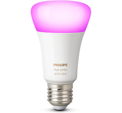 philips hue white and color losse lamp coolblue voor morgen in huis. Black Bedroom Furniture Sets. Home Design Ideas